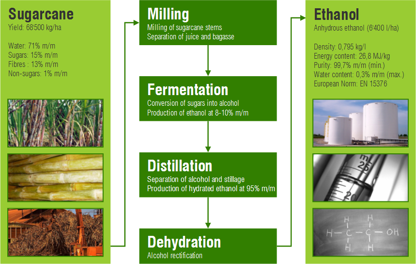 energy output of bioethanol and industrial ethanol essay This meant that the country needed at least 25 ethanol plants, each with an annual output of 20 million litres 3 san carlos bioenergy inc in san carlos city was building the country's first ethanol plant with that production capacity4 meanwhile, it was up to the department of agriculture to propose a strategy to complement this new biofuels law.